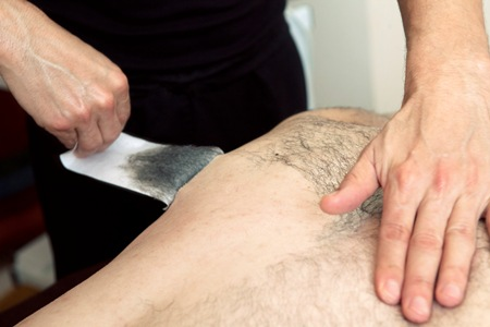 Waxing Men